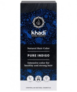 Herbal Color Khadi Indigo Natural. 100 Gr