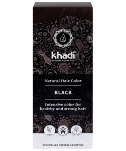 Herbal Color Khadi Negro. 100 Gr
