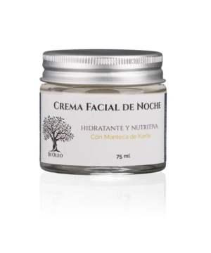 Crema Facial de Noche Potente Hidratación y Nutrición