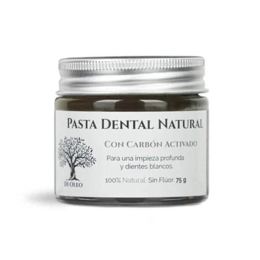 Pasta de Dientes Natural con Carbón Activado Sin Flúor