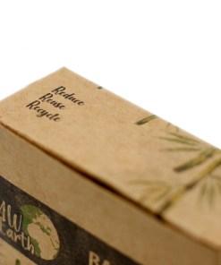 Caja de 200 Bastoncillos de Algodón de Bambú