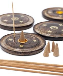 Mango Wood Disc 10cm