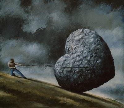 Un corazón de piedra