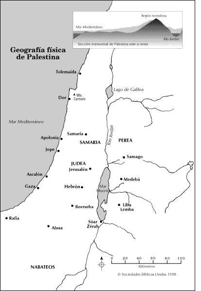 Atlas Bíblico [PDF] y Galería de Mapas del AT y NT