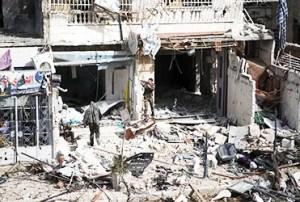 En Siria las agresiones a los cristianos van desde destrucciones de sus propiedades hasta la muerte / EFE