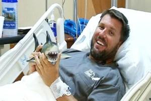 Erick le da gracias a Dios por salvarle la vida, una vez más