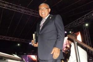 Pastor José Jayaro de la Iglesia Elim Mariara, impartió un mensaje durante el evento / RTF