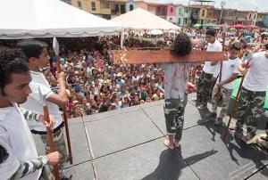Con obras de teatro y coreografías fue expuesto el mensaje de Jesús
