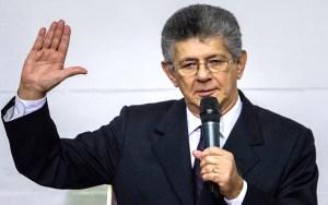 Henry Ramos Allup, presidente de la Asamblea Nacional / EFE