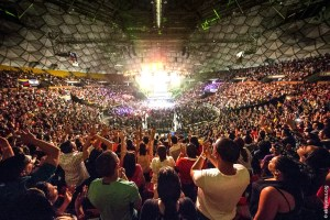 Más de 80 mil personas asistieron al Encuentro en un total de 3 días de ministración / VyV