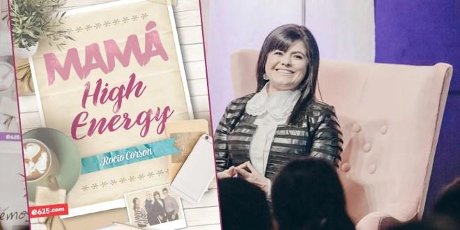 Rocío Corson lanzó su primer libro para mamás