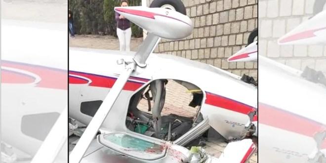 """Dios hace milagros"", dice esposa de hombre que sobrevivió a caída de avioneta"