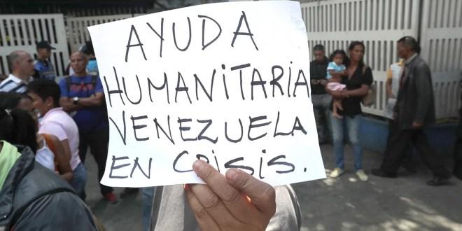 Organizaciones abogan por la entrada de alimentos a Venezuela