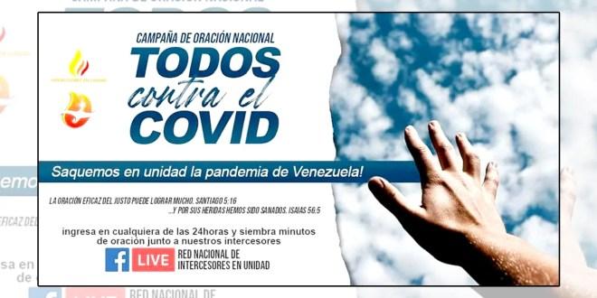 Venezuela se une en oración para erradicar la pandemia