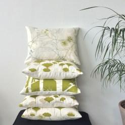 I&S Olive Organic Cushions