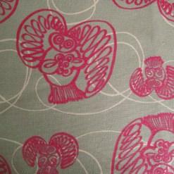 Swirley Owls Pink