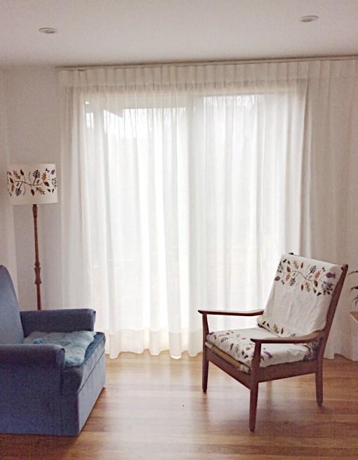 Nikau Entrance Sheer Curtains