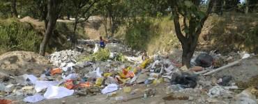 Basureros clandestinos en el Bosque de La Primavera. Foto: Semadet