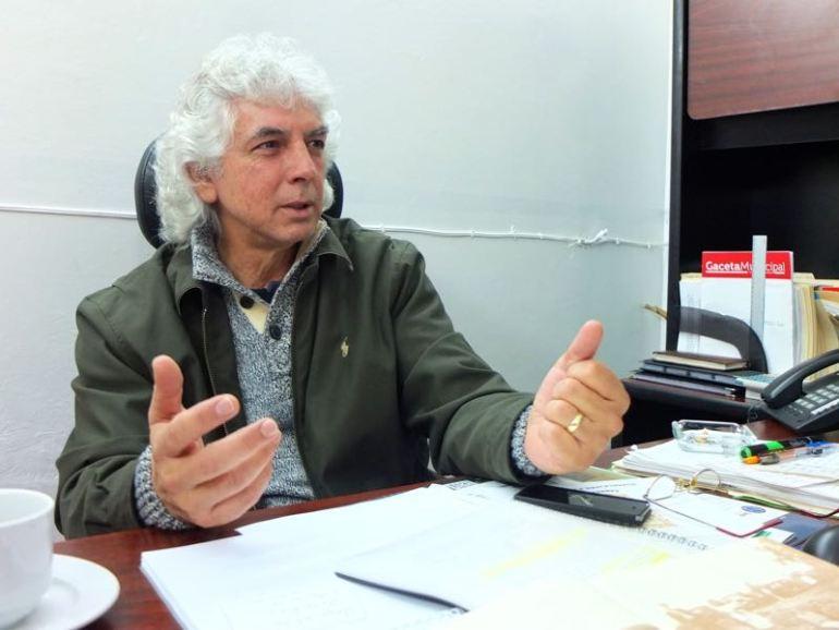 Salvador Cornejo Reynoso, director de Los Colosmo. Foto: Sergio Hernández Márquez