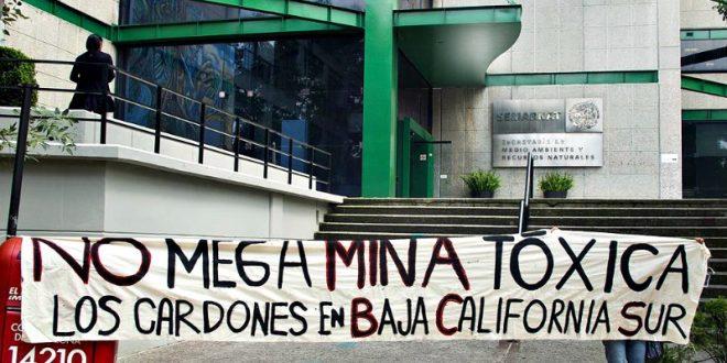 No a la Mina Los Cardones
