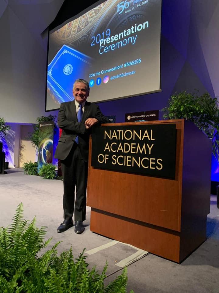 Gerardo Ceballos forma parte desde 2018 de la Academia Nacional de las Ciencias de Estados Unidos