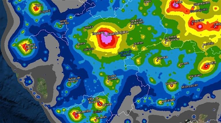 Contaminación lumínica en Jalisco