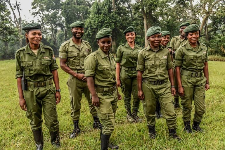 Rangers Virunga parque