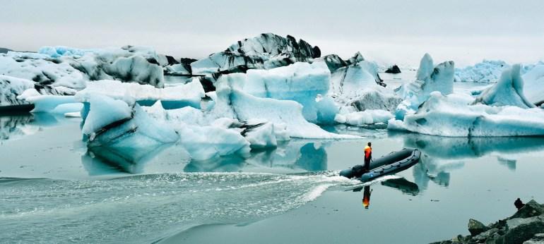 UN News/Laura Quiñones El lago de glaciares Jökulsárlón en Islandia continúa creciendo a medida que el glaciar con el mismo nombre se derrite.