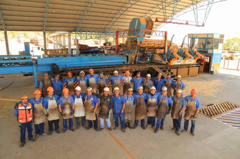 La comunidad ha logrado generar 900 empleos permanentes. Foto: Cortesía Comunidad Indígena Nuevo San Juan Parangaricutiro