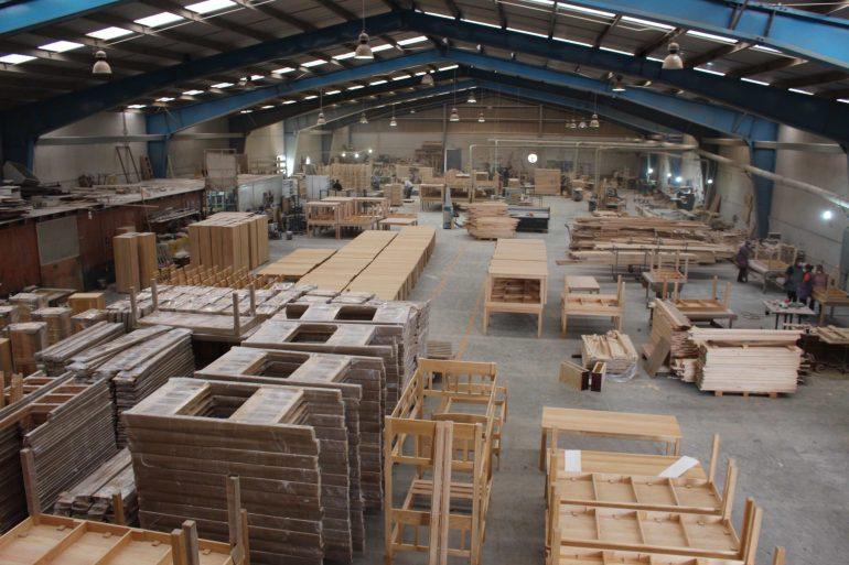 Fábrica de muebles de Nuevo San Juan, una de las empresas comunitarias. Foto: María Eugenia Olvera/Polea A.C.