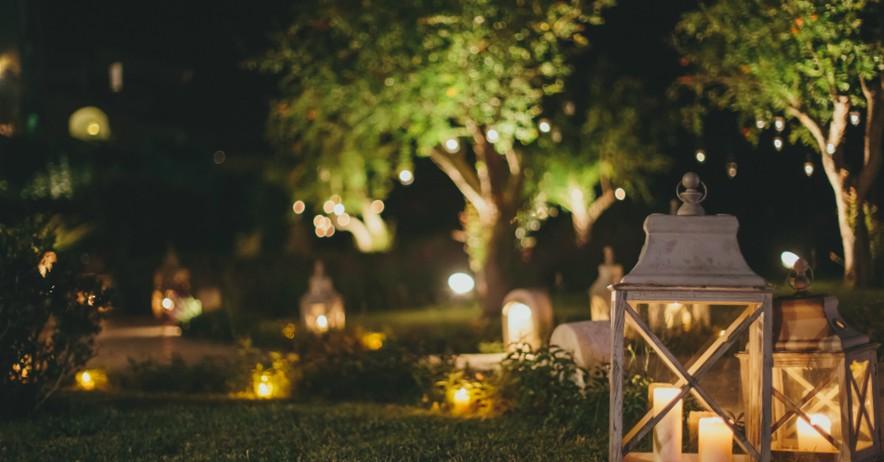 Acierta con la iluminacin del jardn en verano  Verdecora