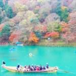 【綺麗すぎ】2016年も紅葉を満喫するなら京都嵐山の渡月橋!!ドローンで空撮してみた結果・・・・・
