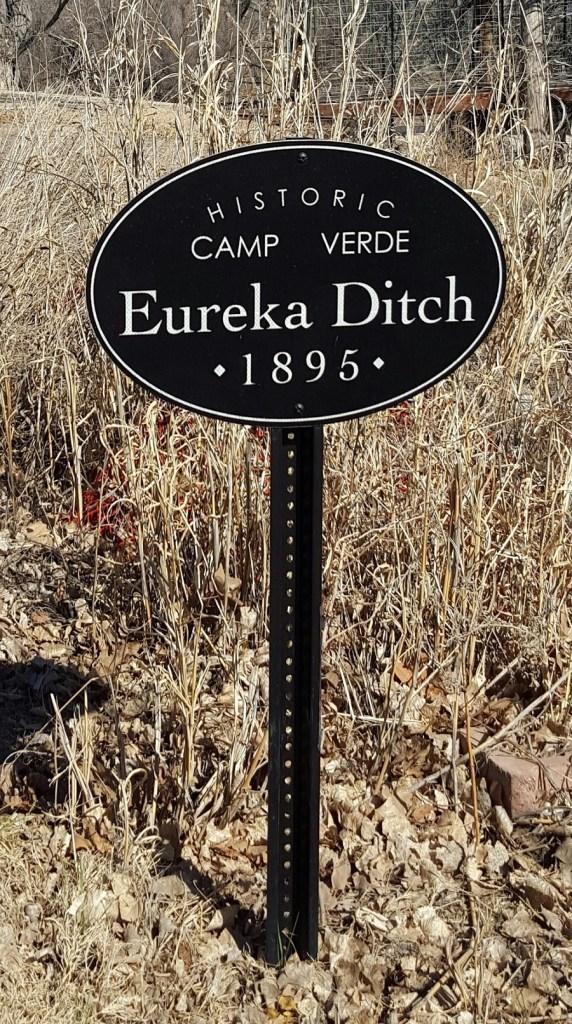 Eureka Ditch Sign