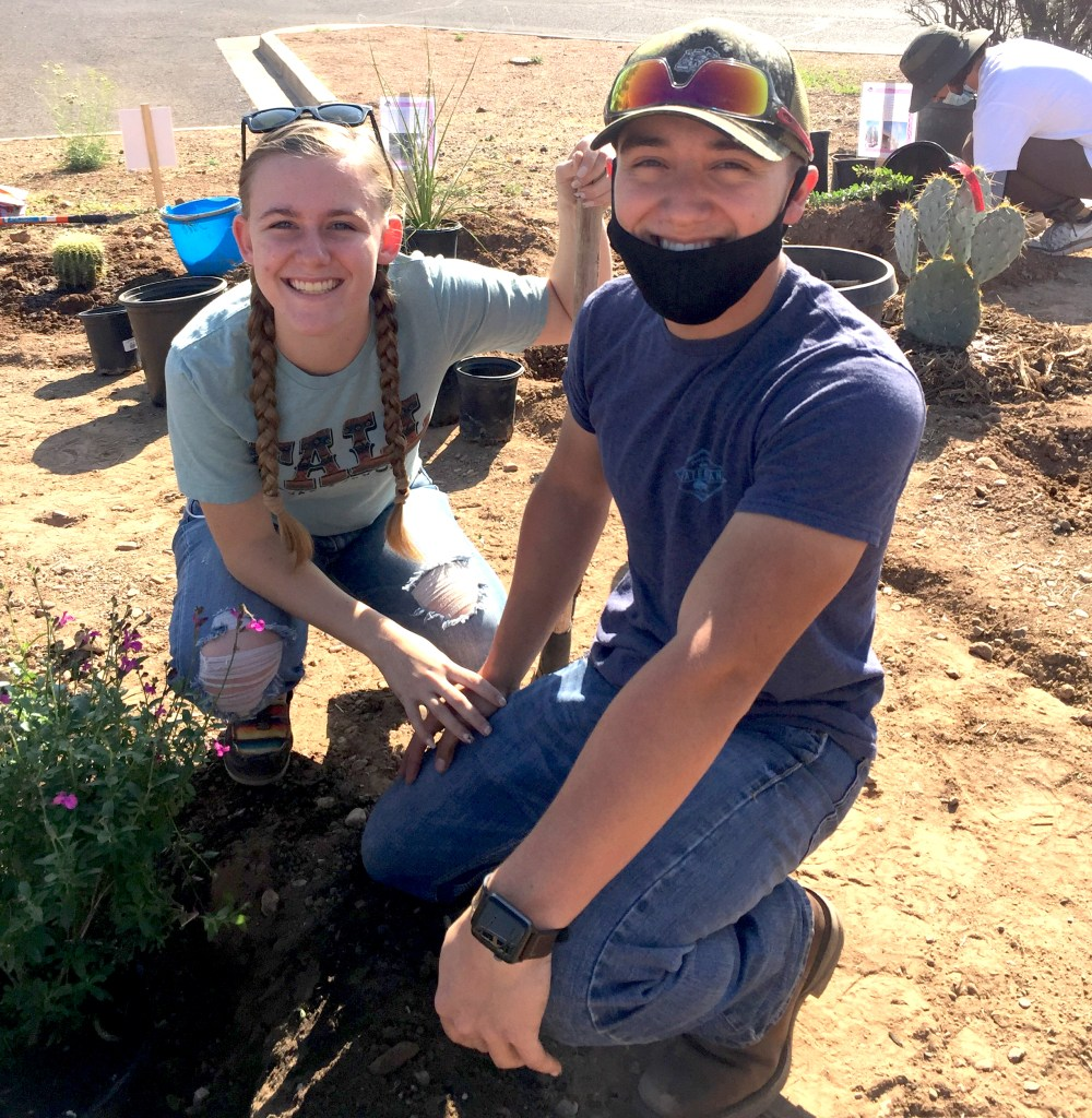 Planting the Discovery Garden
