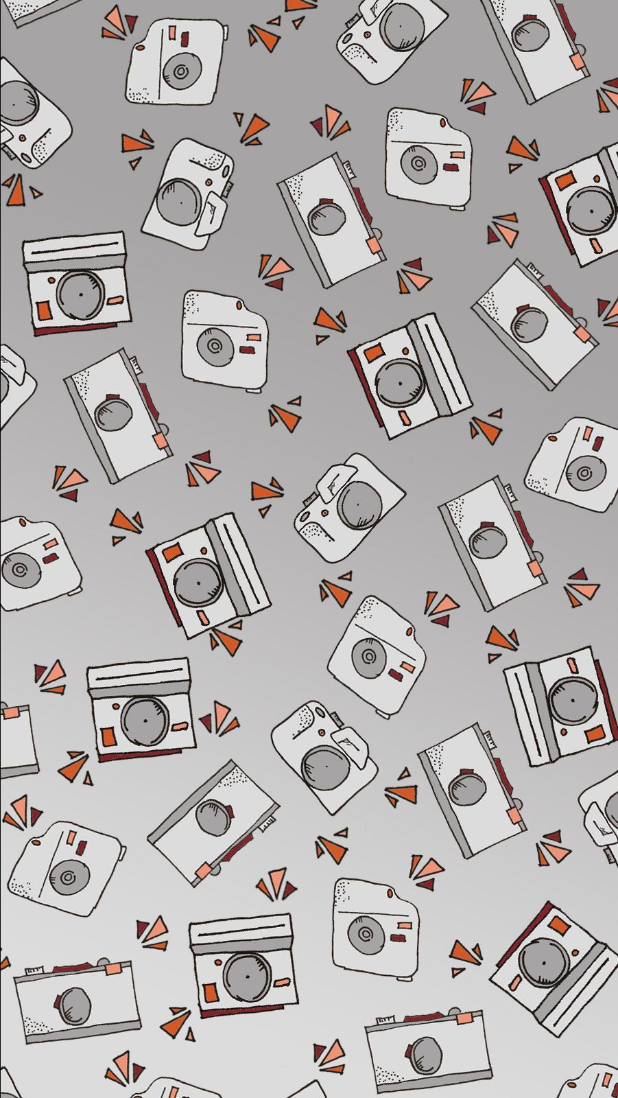 Camera Themed Wallpaper for Desktop Backgrounds or Lock Screens