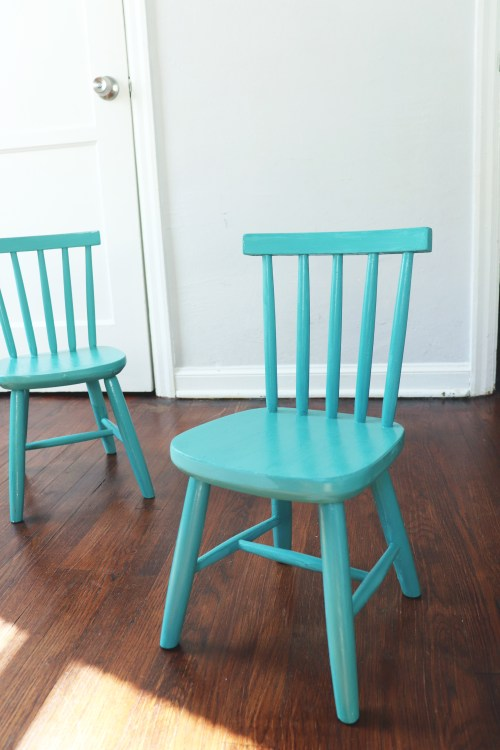 Paint a Chair with Chalk Paint
