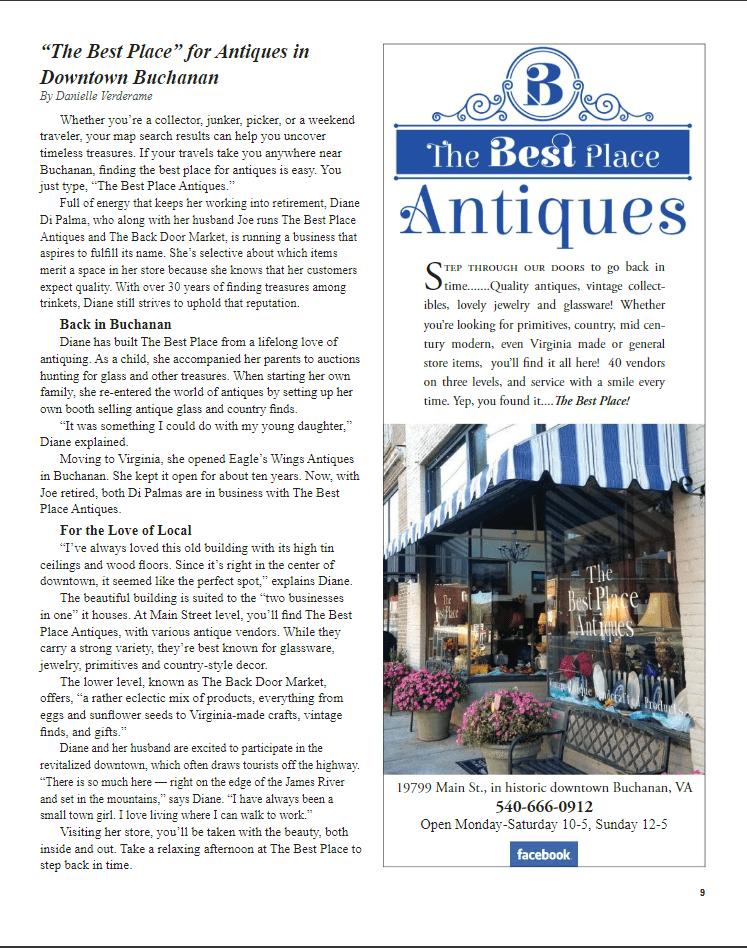 Antique Shop Article
