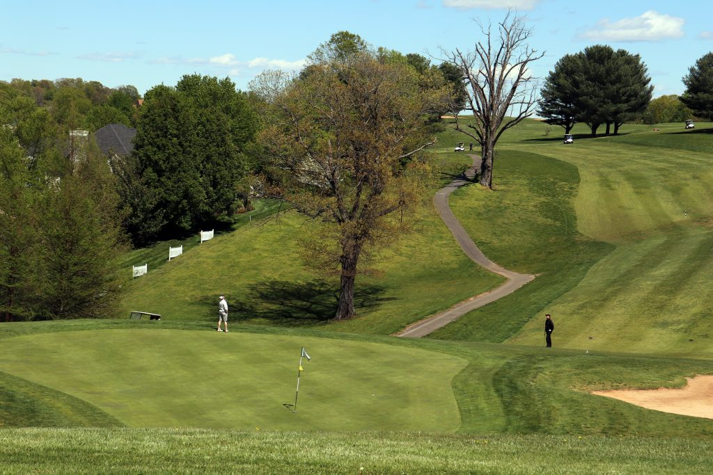 Ivy Hill Article - Golf Course Photography