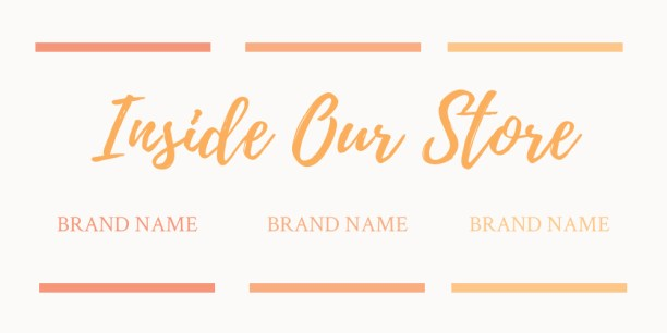 Brand Name Image Columns - eStore Sections