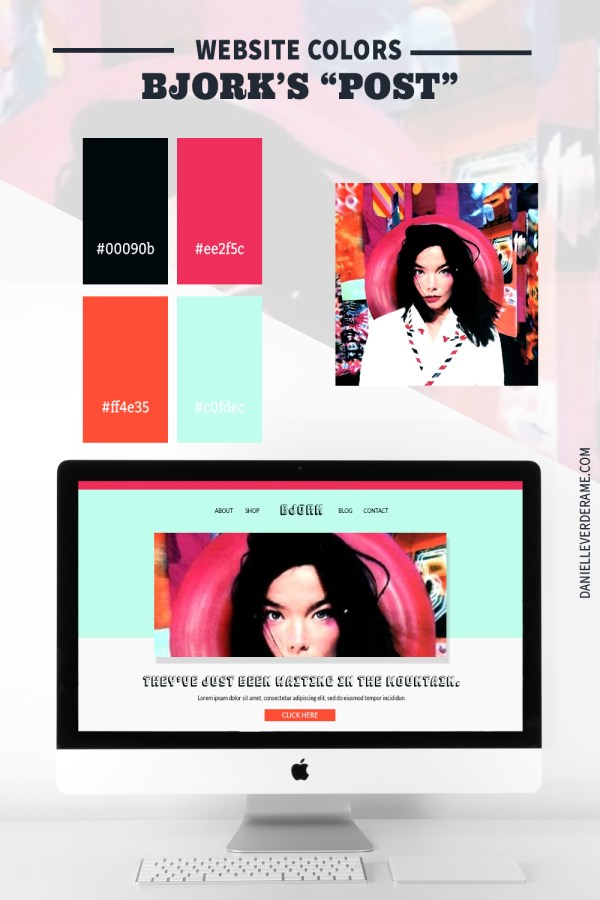 1990s Website color ideas