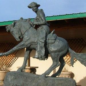 Camp Verde Cowboy Statue