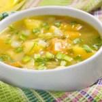 Zuppa di primavera – Fave, Piselli e Carciofi