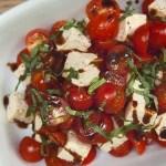 Tofu e Pomodorini all'Aceto Balsamico