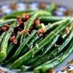 Fagiolini aglio, olio e peperoncino