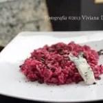 Risotto con crema di Barbabietola e Gorgonzola