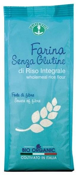 Farina Senza Glutine di Riso Integrale