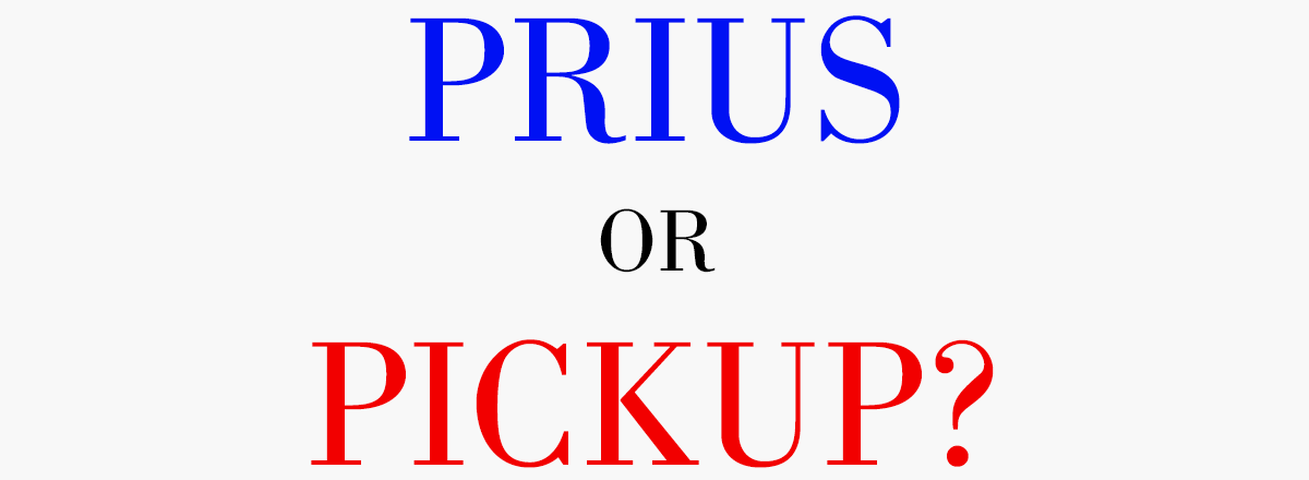 Q &#038; A with the Author: <em>Prius or Pickup? How the Answers to Four Simple Questions Explain America's Great Divide</em>