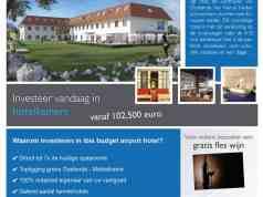Investeer in Ibis airport hotel. Haal een bovengemiddeld rendement op vastgoed en nog tal van andere voordelen.