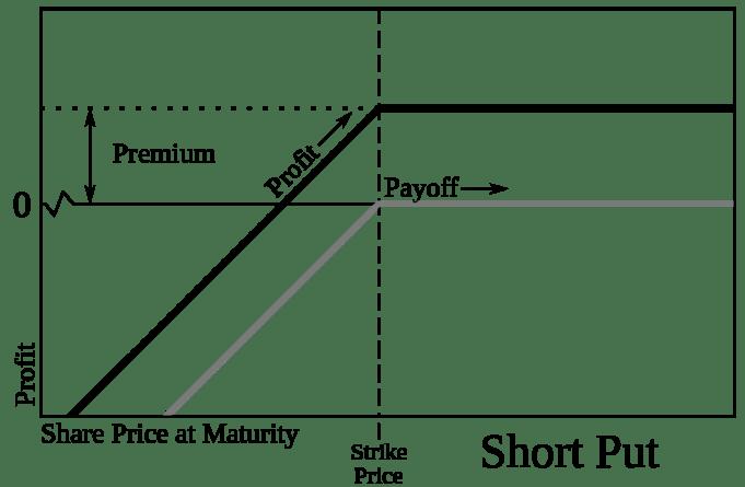 put optie schrijven in plaats van aandelen