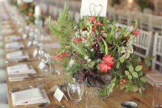 Autumn colour flowers turning leaves barn rustic wedding design styling verdigris wood tables Dewsal Court